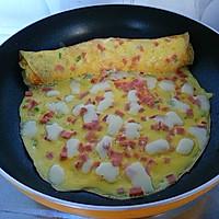 黄金早餐——芝士厚蛋烧的做法图解6