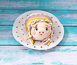 【子母猪】有秘密内涵的猪妈妈卡通馒头的做法