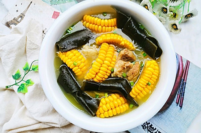 海带玉米猪骨汤