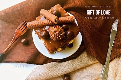 红丝绒巧克力淋面蛋糕#一机多能 一席饪选#