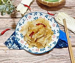 #快手又营养,我家的冬日必备菜品#醋溜粉条白菜的做法