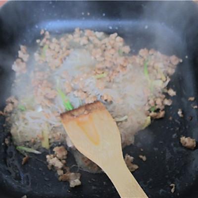 【菁选酱油试用】肉末粉丝的做法 步骤7