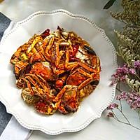 香辣蟹#金龙鱼营养强化维生素A  新派菜油#的做法图解11