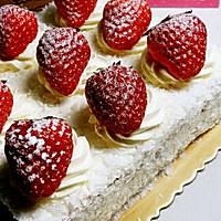 草莓蛋糕的做法图解4