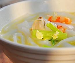 鲜味汤米面的做法