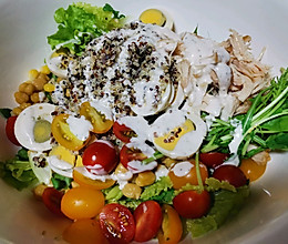 #全电厨王料理挑战赛热力开战!#蔬菜沙拉的做法