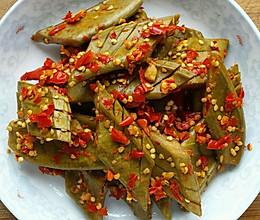 酸辣刀豆的做法