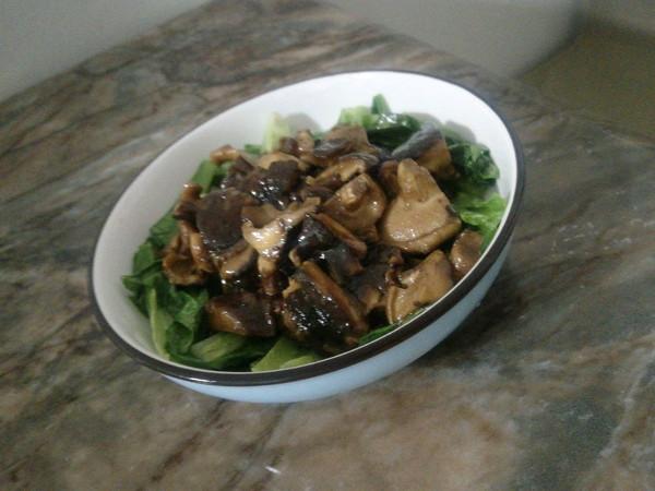 香菇清菜的做法