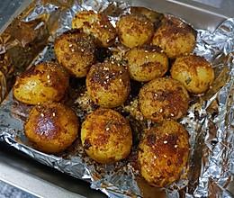 香辣烤土豆的做法
