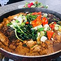 彩椒鲜香鱼头炖豆腐的做法图解6