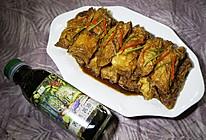 菁选酱油试用之红烧豆腐衣百叶包的做法