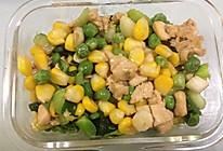 鸡肉玉米田园小炒的做法