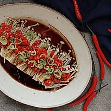 桌饭年夜菜 | 剁椒金针菇,唤醒你的味蕾和胃口
