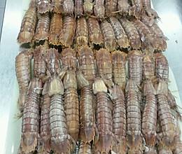 白灼皮皮虾的做法