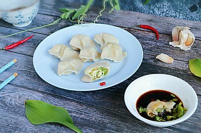 西葫芦鸡蛋虾皮饺