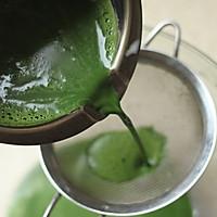 ~水玉抹茶夹心蛋糕卷~一抹清新绿的做法图解5