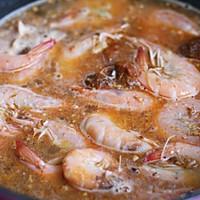 香菇酱烧基围虾的做法图解6