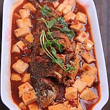 麻辣豆腐与鲫鱼的混搭----麻辣豆腐烧鲫鱼