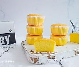 #一人一道拿手菜#海绵纸杯蛋糕的做法