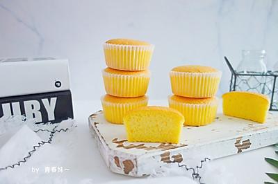 #一人一道拿手菜#海绵纸杯蛋糕