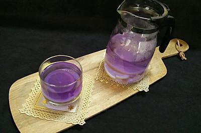 蓝蝴蝶柠檬饮