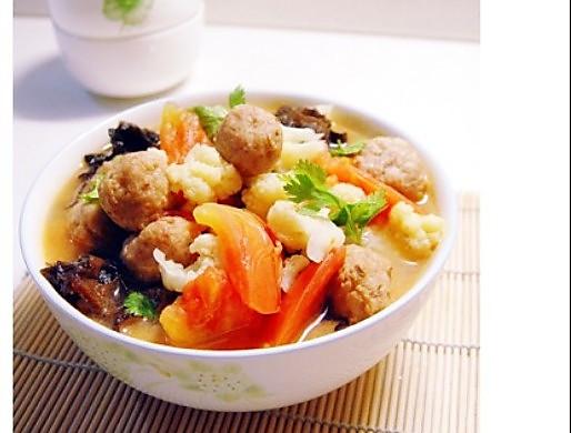 家常美味:三鲜菜花
