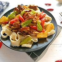 #精品菜谱挑战赛#新疆大盘鸡(附裤带面做法)的做法图解19