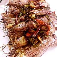爆炒虾姑皮皮虾