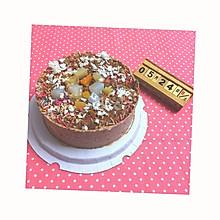 黑白巧克力慕斯蛋糕6寸