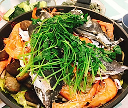 鹅妈妈锅无水海鲜锅的做法