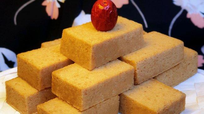 紅棗糯米金磚蛋糕的做法
