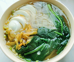 素汤挂面的做法