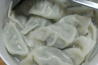 韭菜(蔥)餡水餃