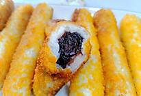 #麦子厨房美食锅#酥脆酸奶山药豆沙卷的做法