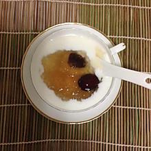 黄桃酸奶燕窝羹
