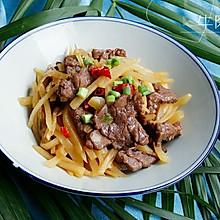 牛肉炝土豆丝