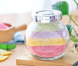 彩色米粉的做法
