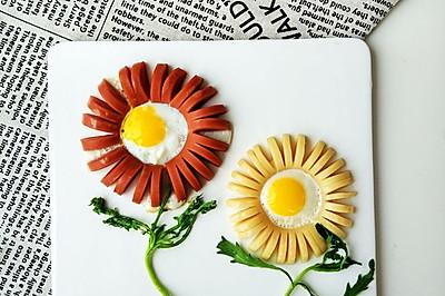 早餐香肠煎蛋