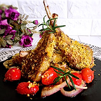 法式迷迭香小羊排#一起吃西餐#的做法图解12