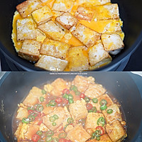 ㊙️外脆里嫩❗香滑多汁❗超下饭的香煎豆腐的做法图解3