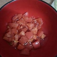 无敌开胃健康的番茄青菜面的做法图解2