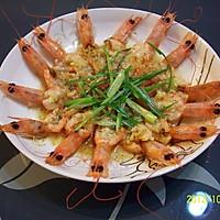 葱油芙蓉虾