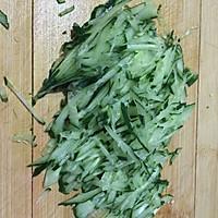 #菁选酱油试用之拌好滋味黄瓜豆腐丝的做法图解3