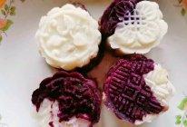 紫薯山药红豆糕的做法
