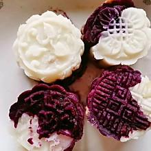紫薯山药红豆糕