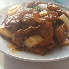大白菜烩烤肉