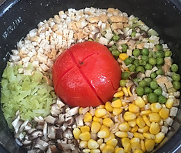 番茄闷饭的做法