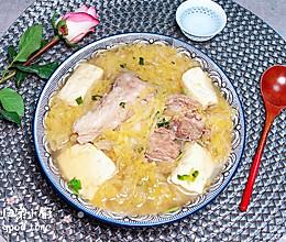 酸菜炖棒骨 #今天吃什么#的做法