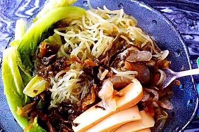 减肥餐 超满足海藻魔芋面
