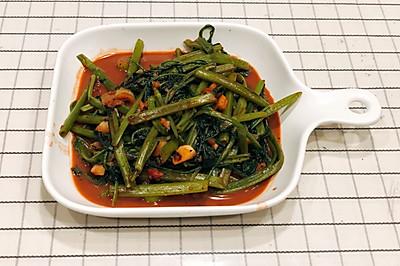 上海本帮菜 de 红腐乳空心菜